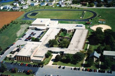 Aerial of Rosary High School