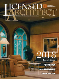 thumbnail of Licensed Architect magazine featuring Fox & Fox